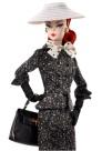 Black & White Tweed Suit Barbie Doll 1