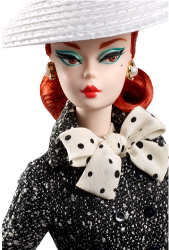 Black & White Tweed Suit Barbie Doll 2
