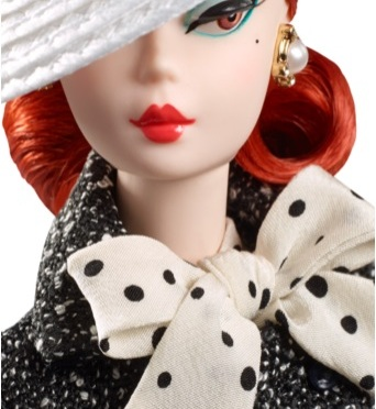 Black & White Tweed Suit Barbie Doll, una silkstone de las de antes