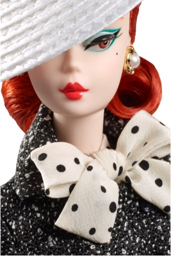 Black & White Tweed Suit Barbie Doll 3