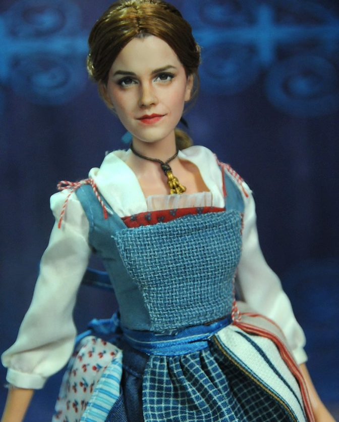 Las versiones de muñecas OOAK de La Bella y la Bestia