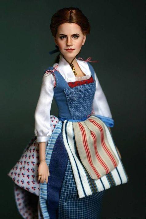 Emma Watson Belle OOAK TheDollPlace