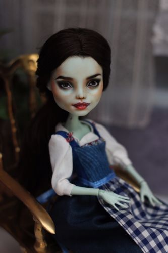 Emma Watson Monster High OOAK Doll olgakowka51r