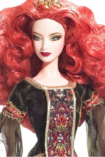 Así es la leyenda que hay detrás de Deirdre of Ulster (y su Barbie)
