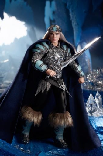 King of the Crystal Cave Barbie Doll