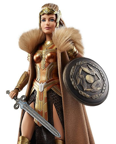 Queen Hippolyte Barbie Doll 1