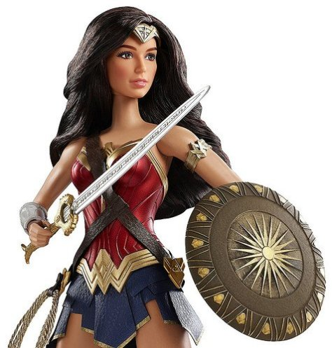 Wonder Woman Barbie Doll 2017 (2)