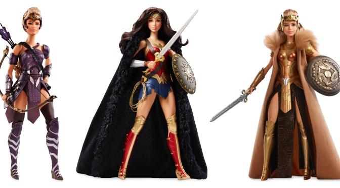 Imágenes promocionales de las muñecas Barbie de la ultima película de Wonder Woman