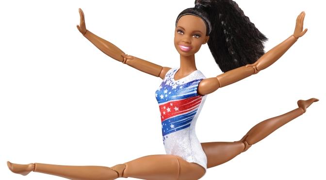 La Barbie de Gabby Douglas puede ser la próxima de tu colección (o de la mía)