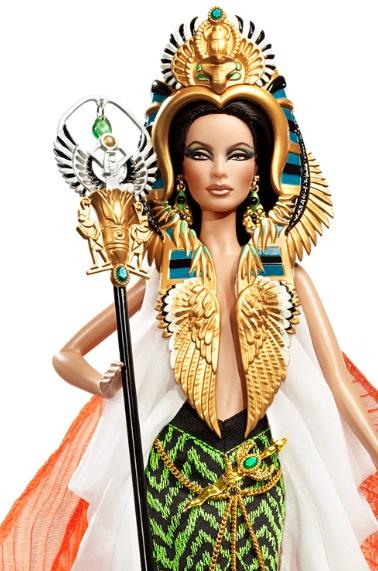 Y Barbie se convirtió en Cleopatra