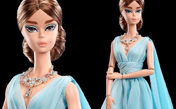 Blue Chiffon Ball Gown Barbie Doll, lo último de Robert Best