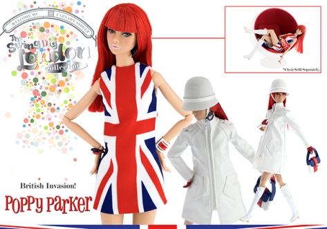 British Invasion! Poppy Parker doll 1