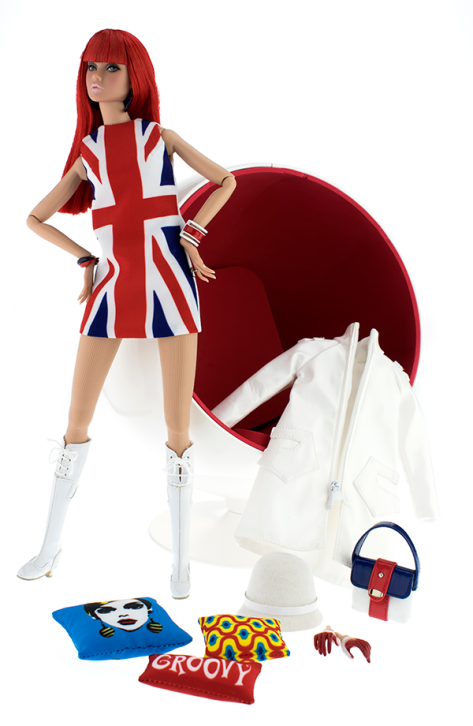 British Invasion! Poppy Parker doll 7