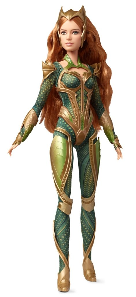 Barbie Mera, la reina de Atlantis hecha muñeca
