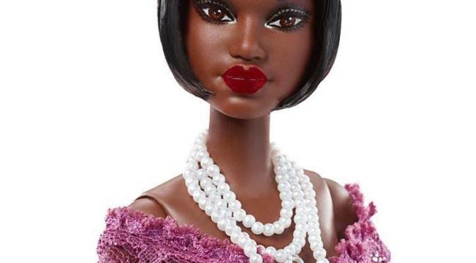 Selma DuPar James Barbie, tercera en la colección Harlem Theatre