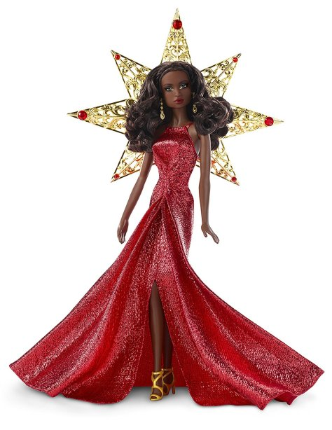 Barbie 2017 Holiday Black Hair 2