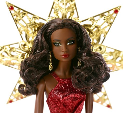 Barbie 2017 Holiday Black Hair 3