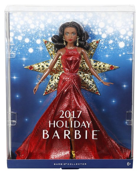 Barbie 2017 Holiday Black Hair 5