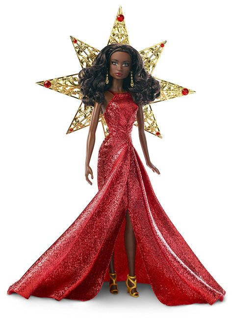 Barbie 2017 Holiday Black Hair