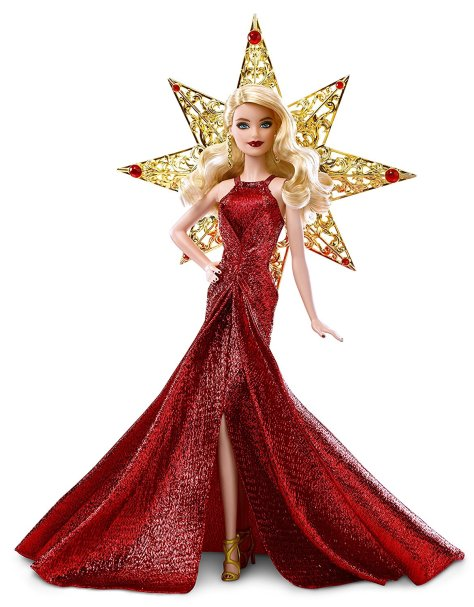 Barbie 2017 Holiday Doll Blonde Hair 2
