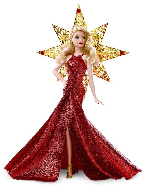 Barbie 2017 Holiday Doll Blonde Hair 4