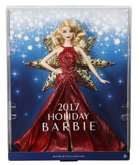 Barbie 2017 Holiday Doll Blonde Hair