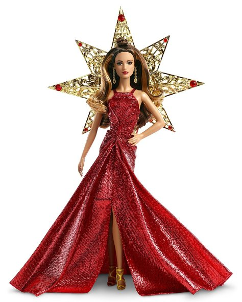 Barbie 2017 Holiday Doll Brunette