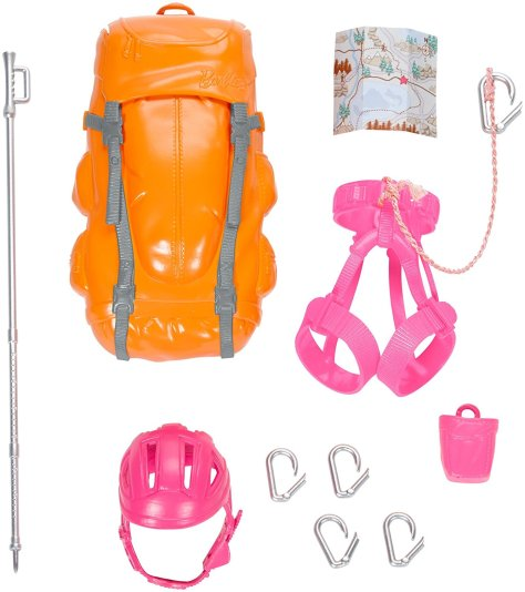 Barbie Made to Move The Ultimate Posable Rock Climber Doll 3