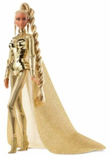 Golden Galaxy Barbie Doll