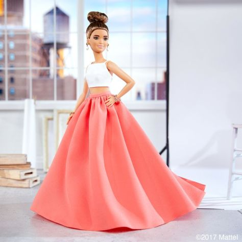 Christian Siriano OOAK barbie (1)