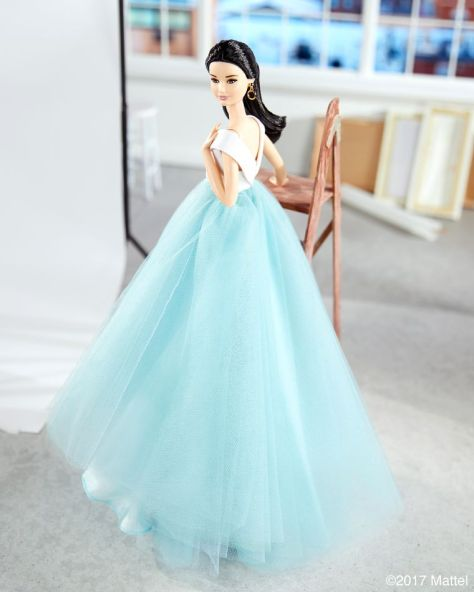 Christian Siriano OOAK barbie (2)