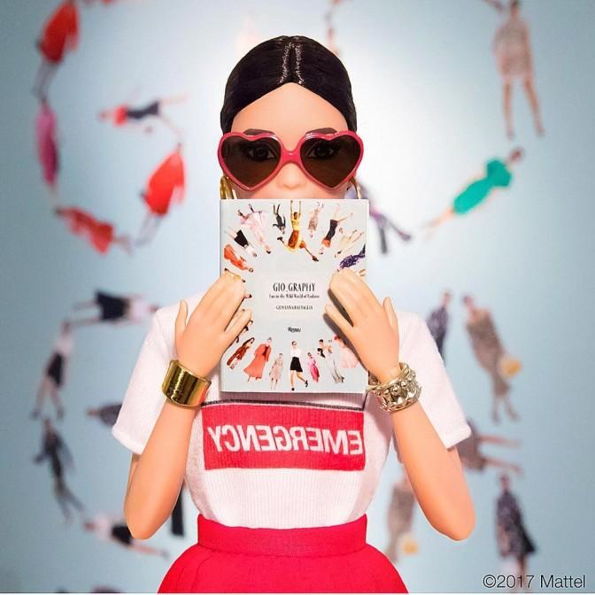 Giovanna Battaglia y su Barbie