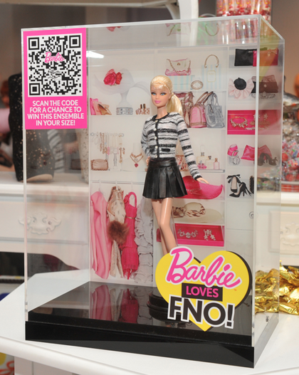 Barbie FNO alice + olivia by Stacey Bendet
