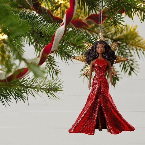 2017 holiday ornament barbie AA