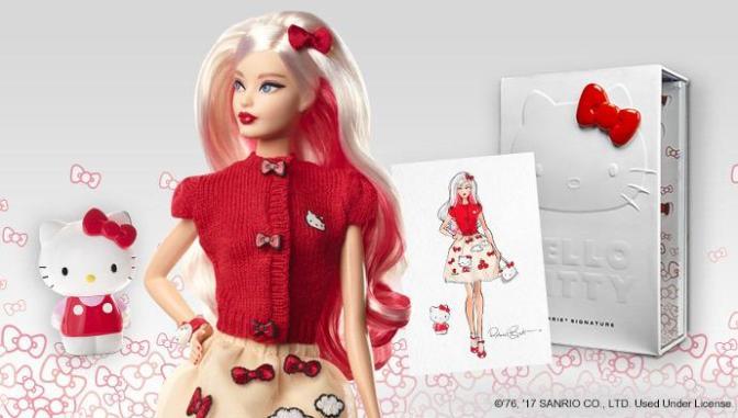 Barbie y Hello Kitty se aman de nuevo