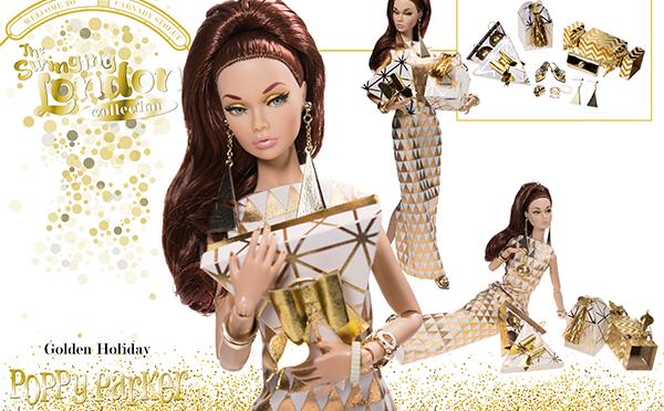 La Navidad de Poppy Parker será… ¡¡dorada!!