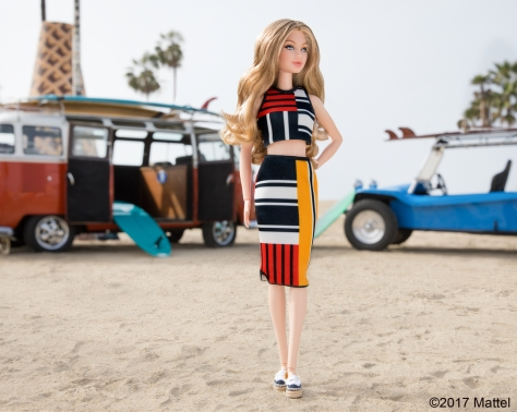 Gigi Hadid Barbie in Tommy Hilfiger