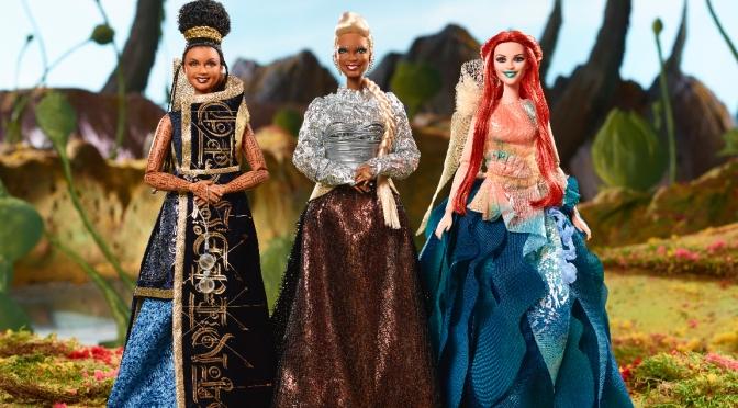 Las muñecas barbie de Una arruga en el tiempo