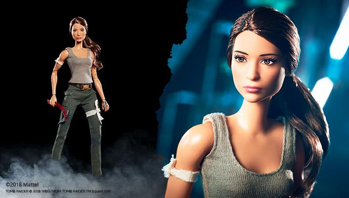 Lara Croft Barbie Doll