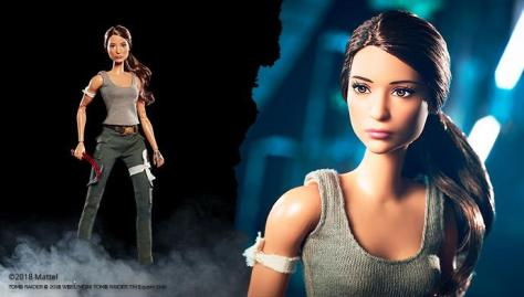Lara Croft Barbie Doll