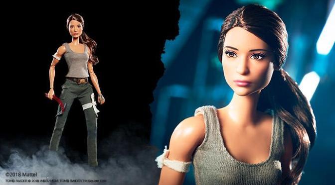 Lara Croft ya tiene su Barbie