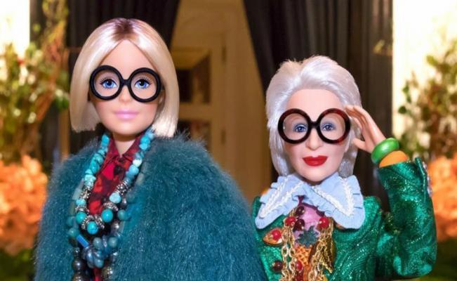 ¡¡Iris Apfel ya tiene su Barbie!!