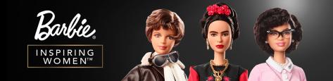 inspiring women barbie series