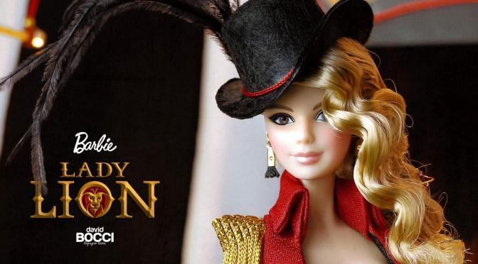 David Bocci y su última muñeca Barbie de convención