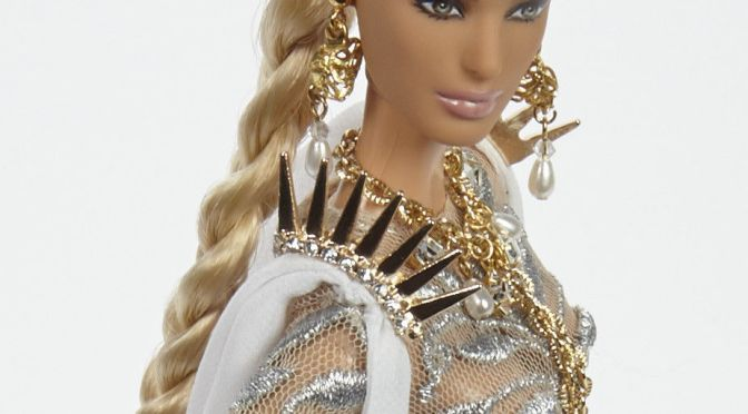 Diana, la última Barbie OOAK de Linda Kyaw