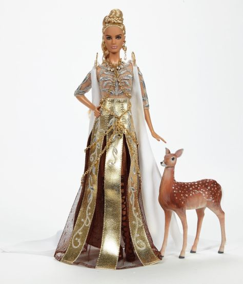 Barbie as Diana OOAK