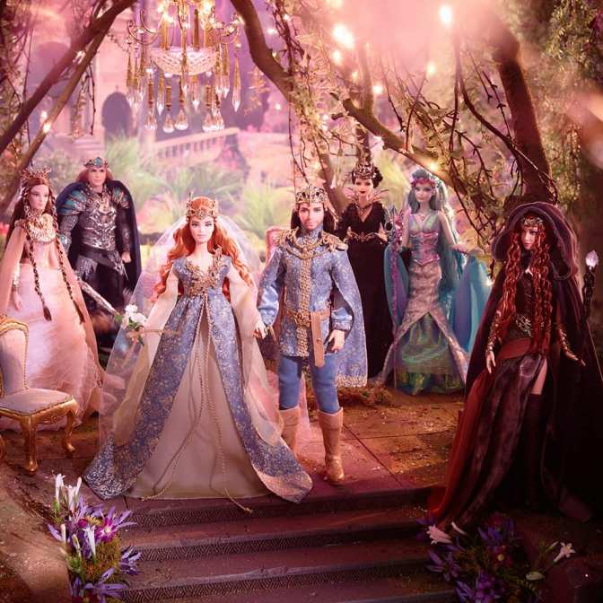 ¡Nos vamos de boda! Fairy Kingdom Wedding Barbie & Ken Dolls