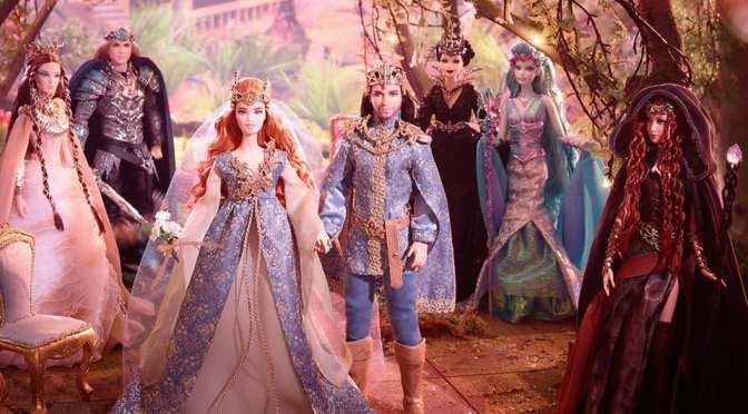 ¡Nos vamos de boda! Fairy Kingdom Wedding Barbie & Ken Dolls
