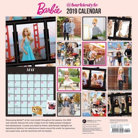calendario barbiestyle 1