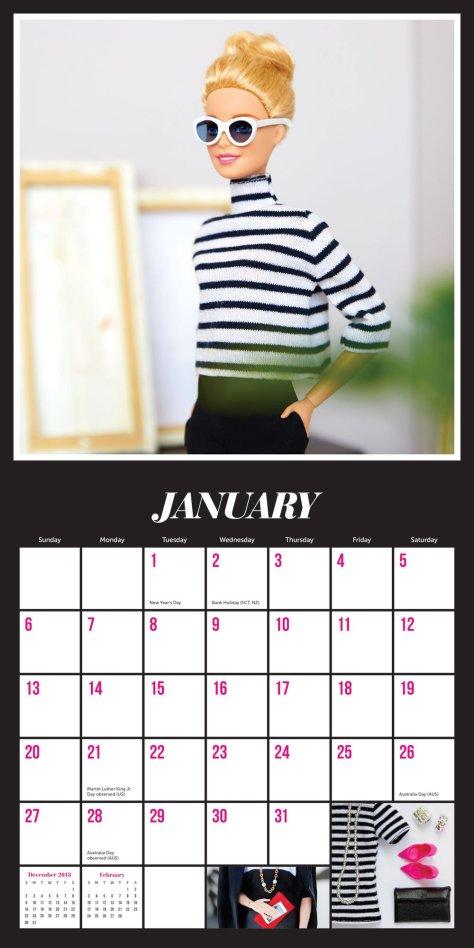 calendario barbiestyle 2